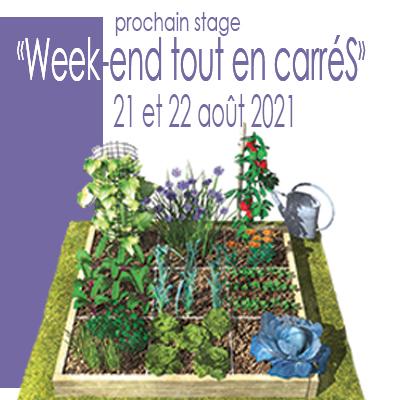 Le prochain stage d'apiculture en ruche Warré à noter sur les agendas au Potager en Carrés à la Française - École du Jardinage en Carrés