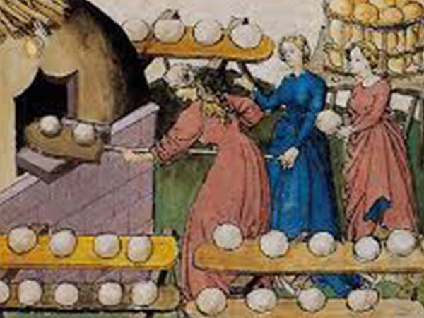 Cuisson au four à bois - Repas médiéval au Potager en carrés à la Française